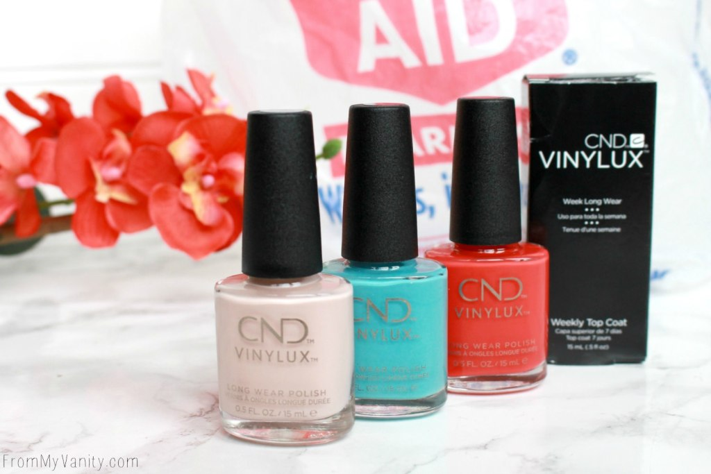 Easy Summer Nail Art with CND VINYLUX | Tutorial - From My Vanity