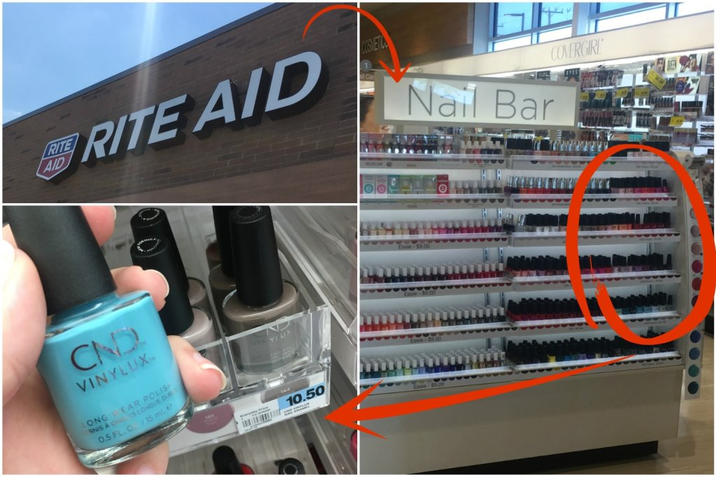 Easy Summer Nail Art with CND VINYLUX | Tutorial | Find it at Rite Aid