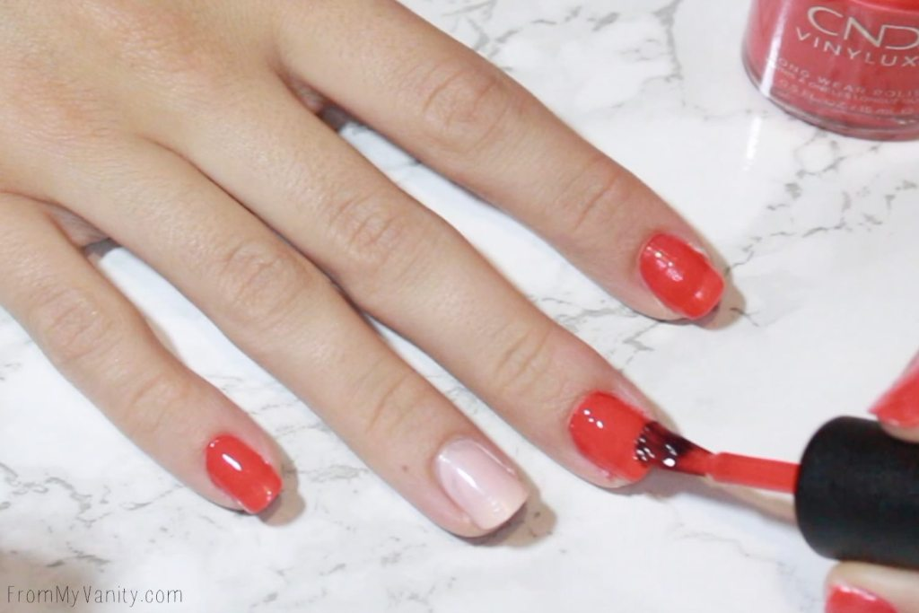 Easy Summer Nail Art with CND VINYLUX | Tutorial | Step 2