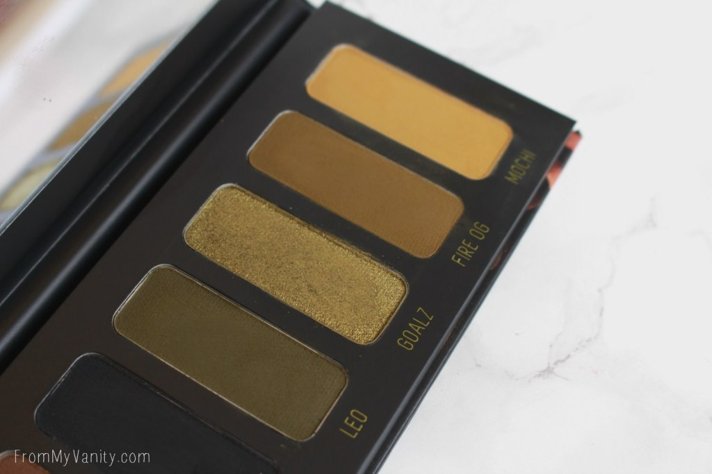 Melt Cosmetics Gemini Palette | Review, Swatches, Tutorial, & Potential Dupes! | The green side
