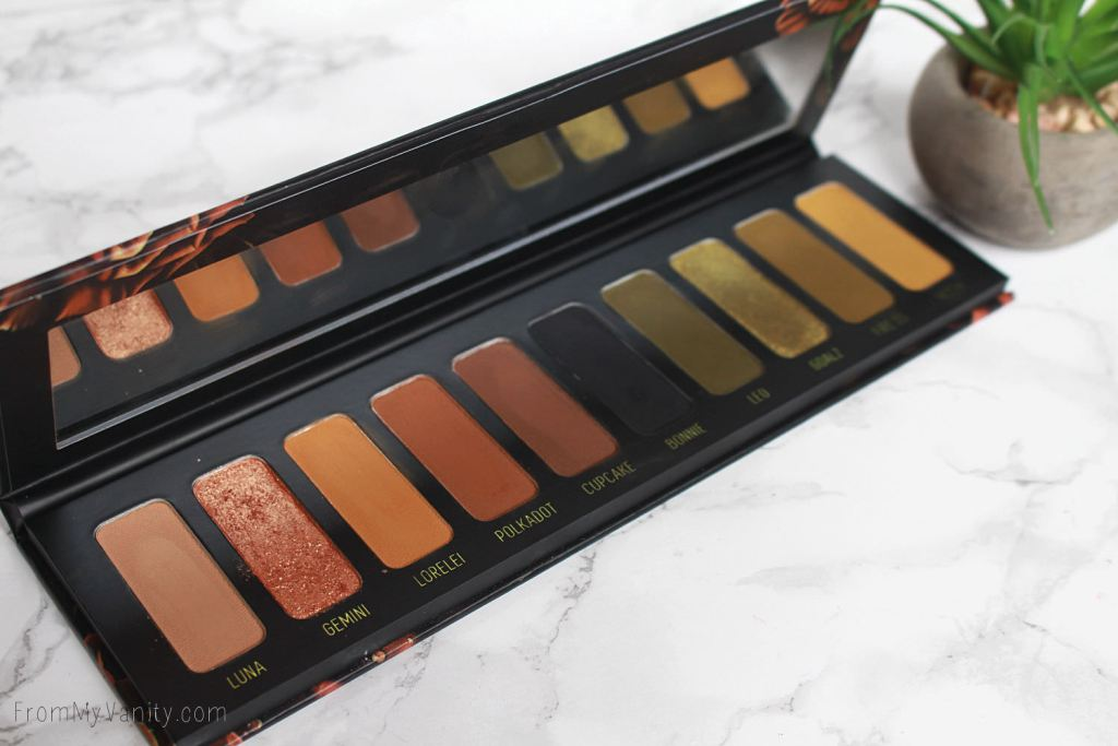 Melt Cosmetics Gemini Palette | Review, Swatches, Tutorial, & Dupes! | Warm Browns & Hunter Greens