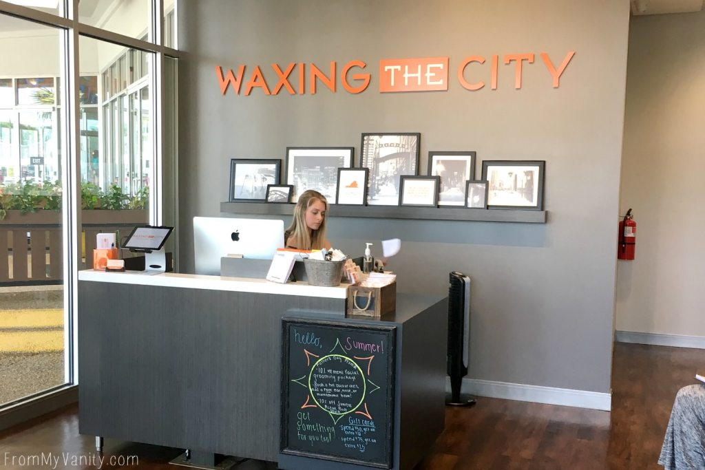 Getting My Brows Shaped at Waxing the City | My Experience | Studio Lobby