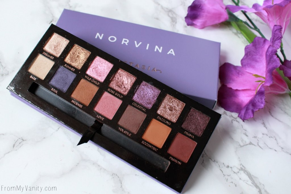 ABH Norvina Palette | Review, Swatches, + Tutorial