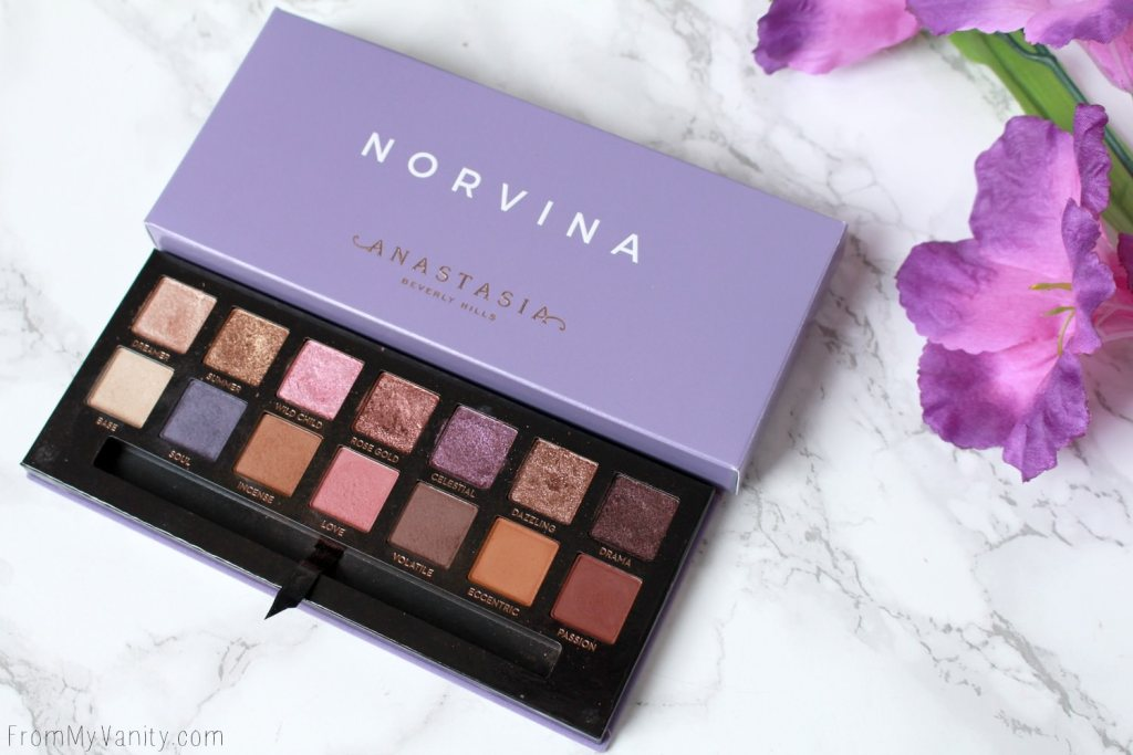 ABH Norvina Palette | Review, Swatches, + Tutorial | Anastasia Beverly Hills Norvina Palette