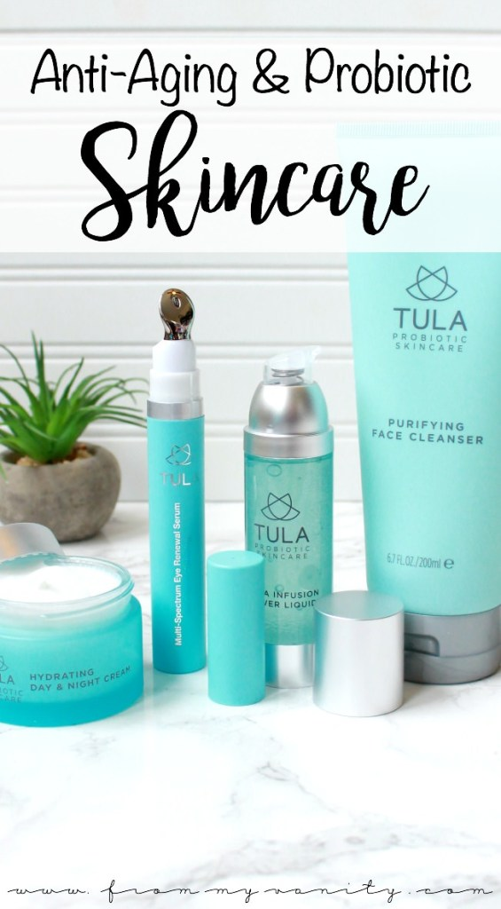 A New TULA Probiotic 4-Piece Skincare Set Available at QVC | QVC Today's Special Value | TULA by Dr. Raj Antiaging 4-Piece Face & Eye Essentials