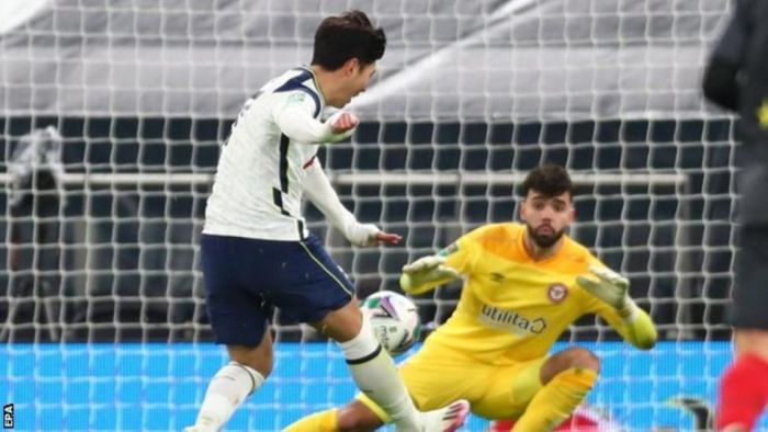 Tottenham 2 – 0 Brentford (Watch Video)