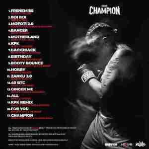 Rexxie – A True Champion Album Track List