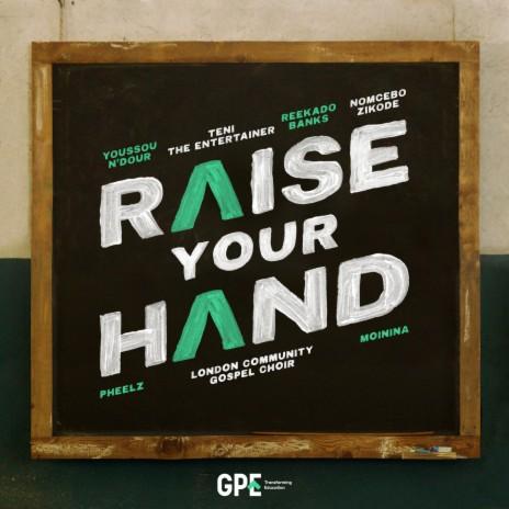 Reekado Banks Raise Your Hand Lyrics ft. Teni