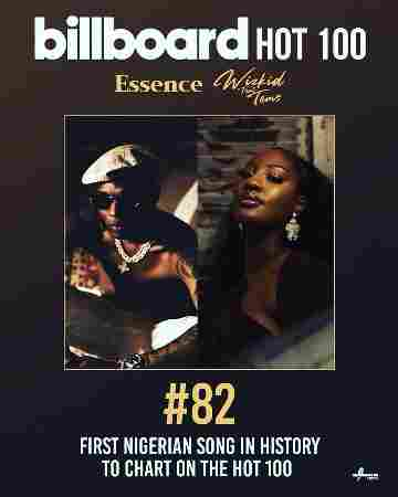 Tems makes first debut as Wizkid's 'Essence' makes Billboard hot 100