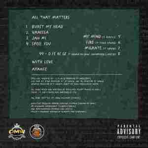 Ayanfe – All That Matters EP Track List