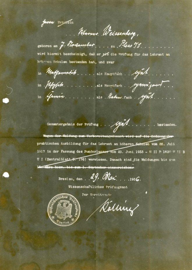 29th May 1936
