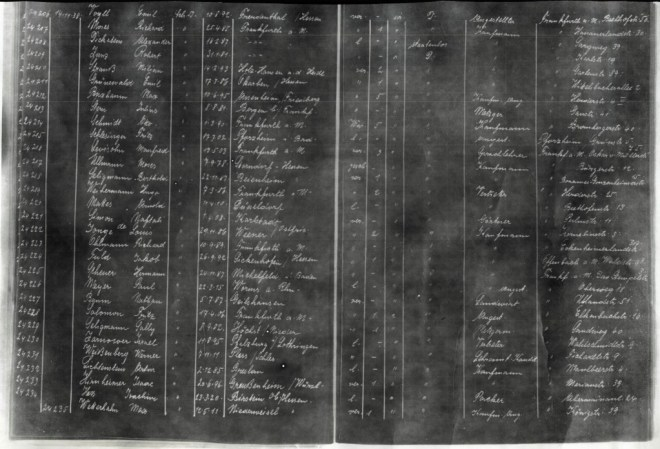 Werner_Dachau_register_of_names