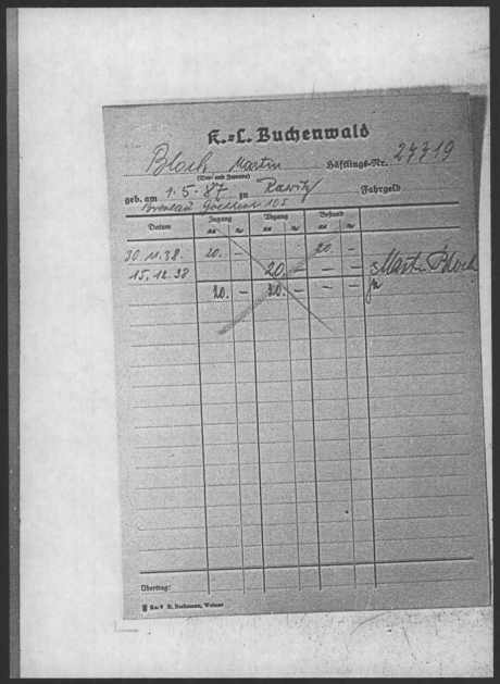 Buchenwald record