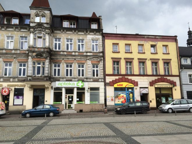 Mysłowice: a square