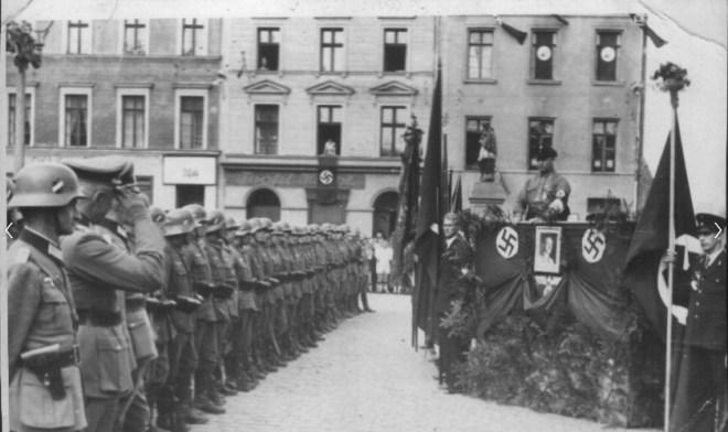 Myslowice - main square, 1939: source fotopolska.eu