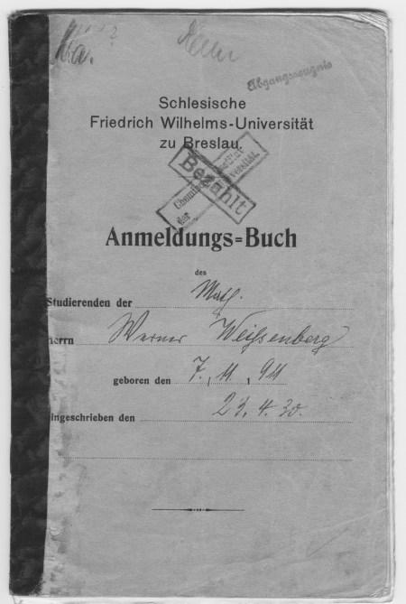 breslau university book