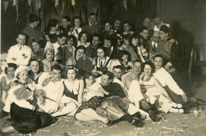 Dance students 7th February 1931