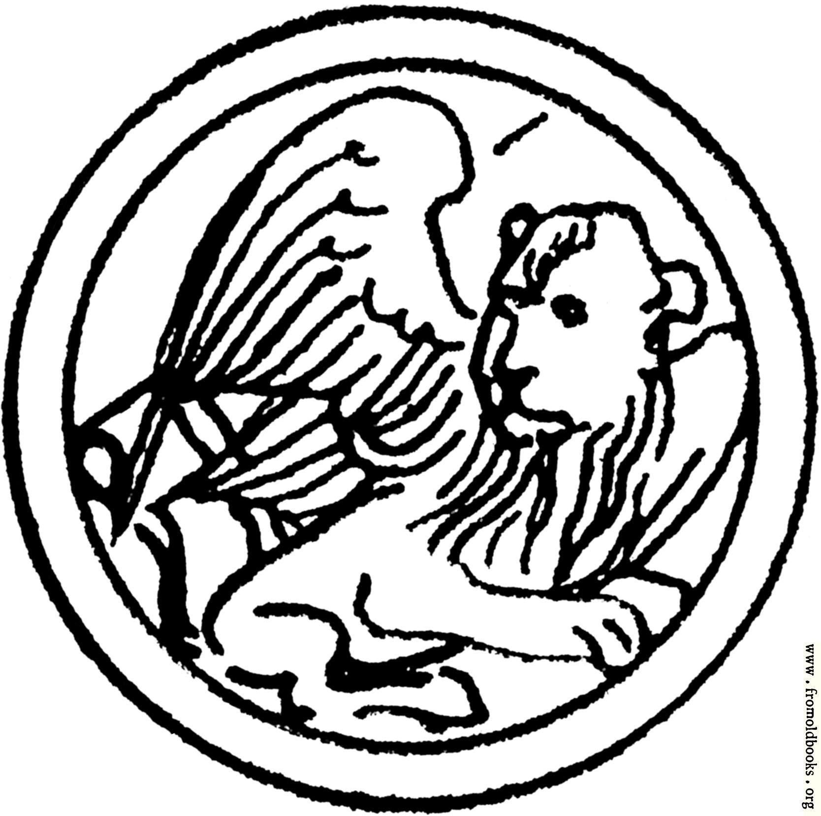 Symbol of St. Mark the Evangelist