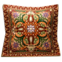 Ornamental Decorative Tapestry Throw Pillow | Product sku ...