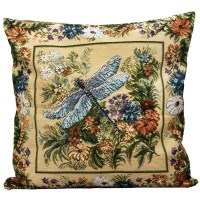 Dragonfly Decorative Tapestry Throw Pillow | Product sku J ...