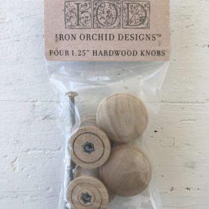 Wooden Knobs for Stamping