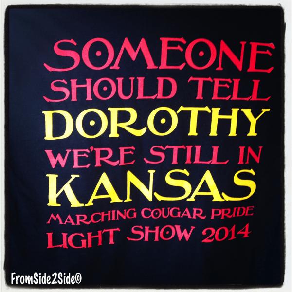 tee-shirt de light-show