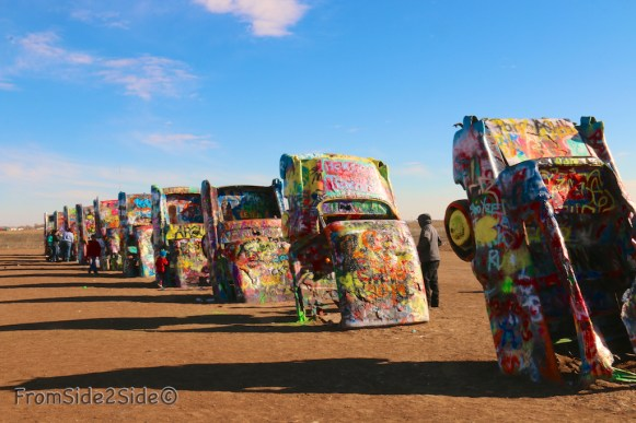 Cadillac ranch 27