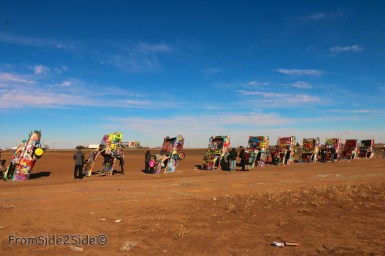 Cadillac ranch 9