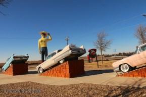 fake cadillac ranch 8