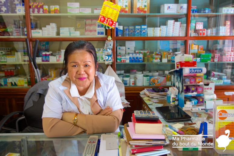 Pharmacienne Laos