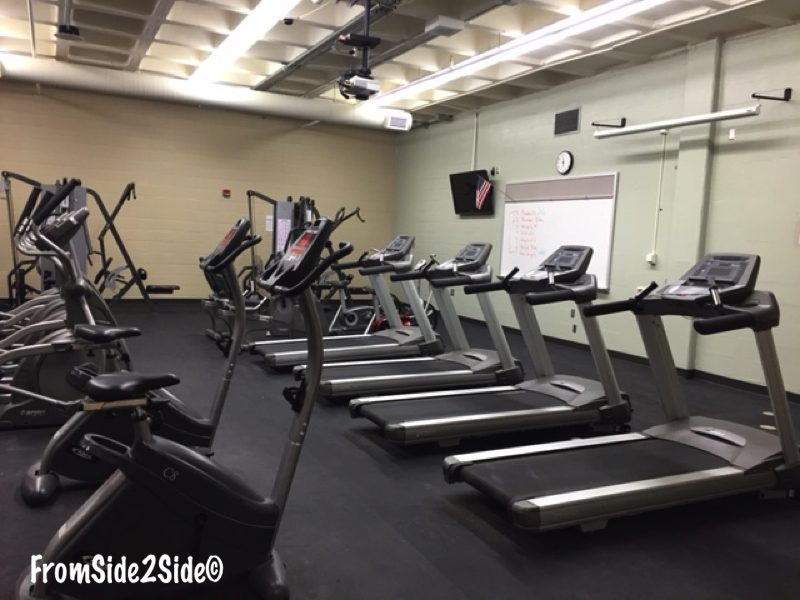 une des salles de gym
