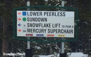 croisement ski