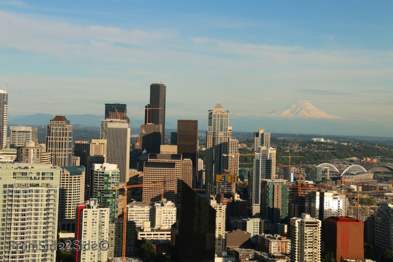 Seattle et le Mount Rainier