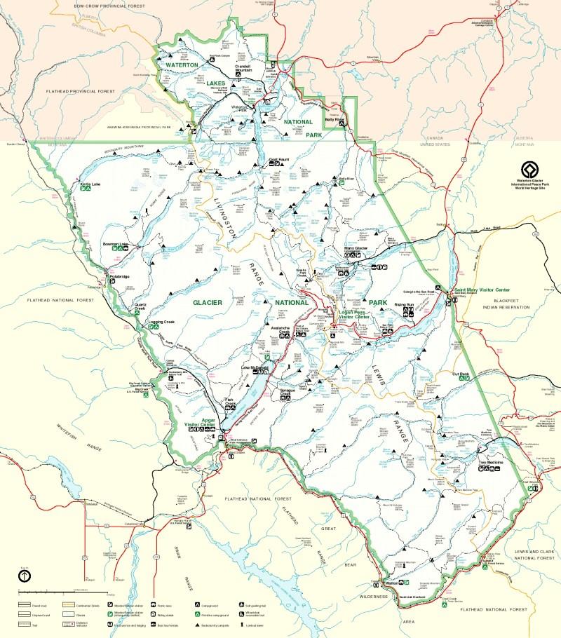 Map_of_Glacier_National_Park