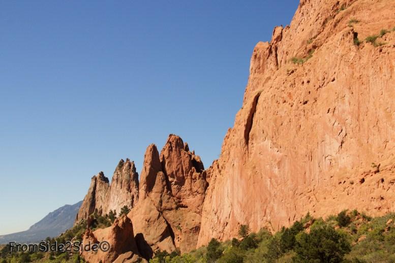 Sentinelle Rock et devant North Gateway Rock
