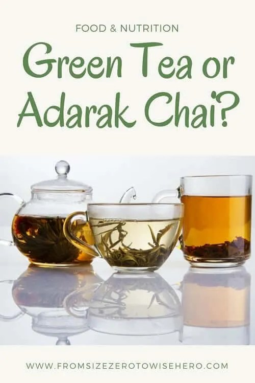 Green tea or Adarak Chai Pin it !!!