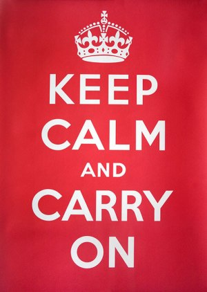 Keep Calm and Cary On