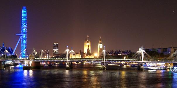 Charing Cross Bridge - London