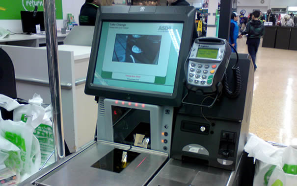 Asda self-checkout