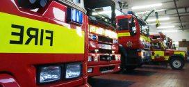 camiones de bomberos de Londres