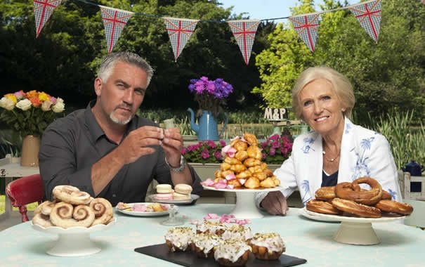 Jueces de The Great British Bake Off