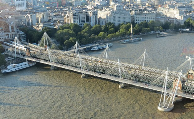 Río Támesis desde el London Eye