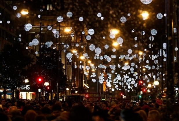 luces navidad oxford street