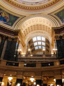 art and furnishing of wisconsin state capitol