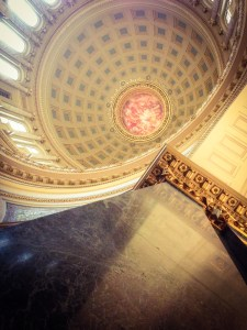 Capitol Dome and marble