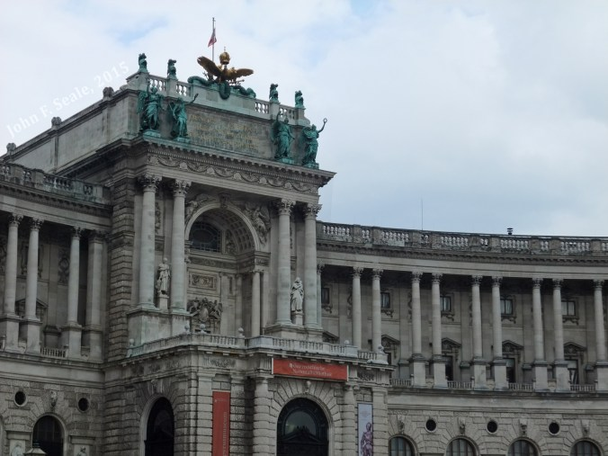 Austrian National Library on the Heldenplatz