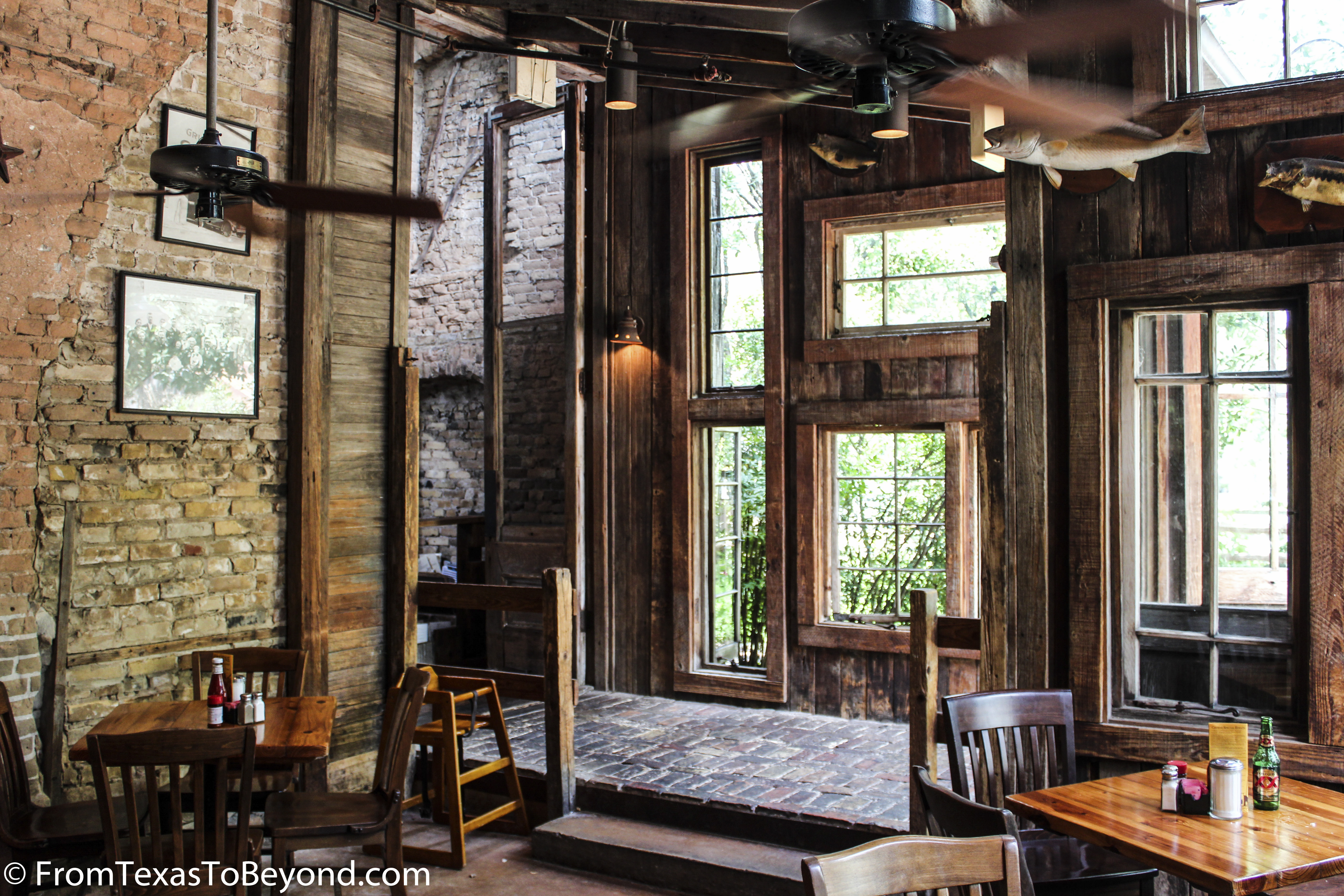 Gristmill River Restaurant And Bar From Texas To Beyond
