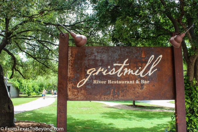 The Gristmill - Sign 2