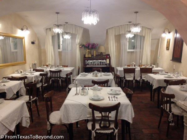 The Dining Area at Allegro Hotel