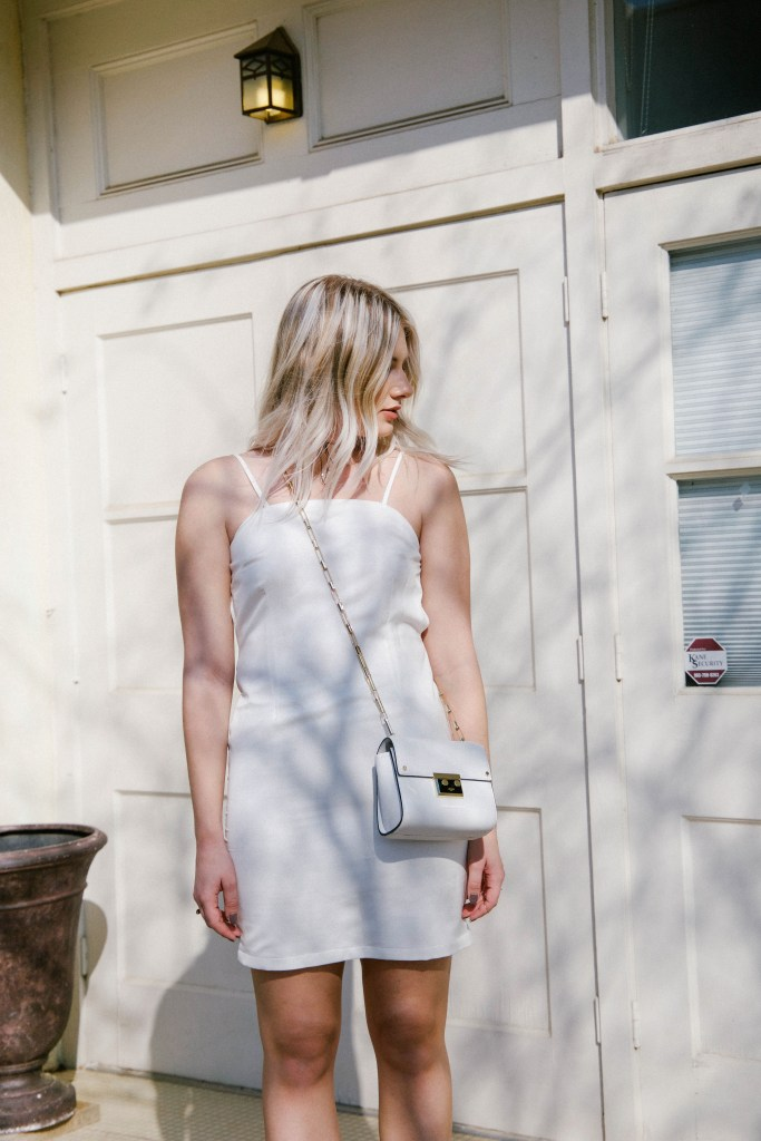 White Slip Dress - From Texas with Love